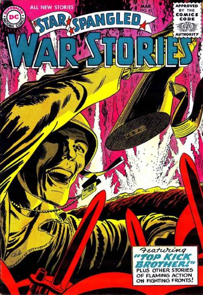 Cover for Star Spangled War Stories (DC, 1952 series) #43