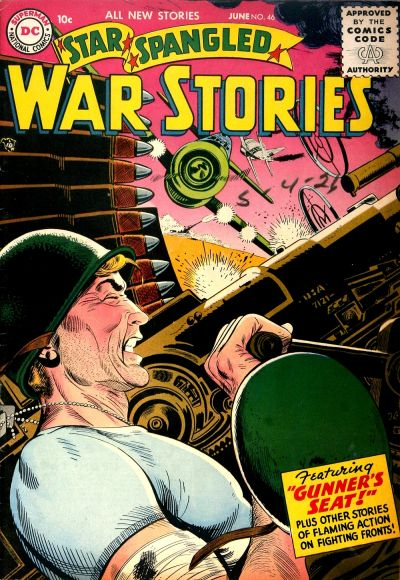 Cover for Star Spangled War Stories (DC, 1952 series) #46