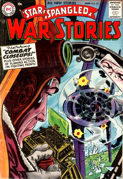 Cover for Star Spangled War Stories (DC, 1952 series) #53