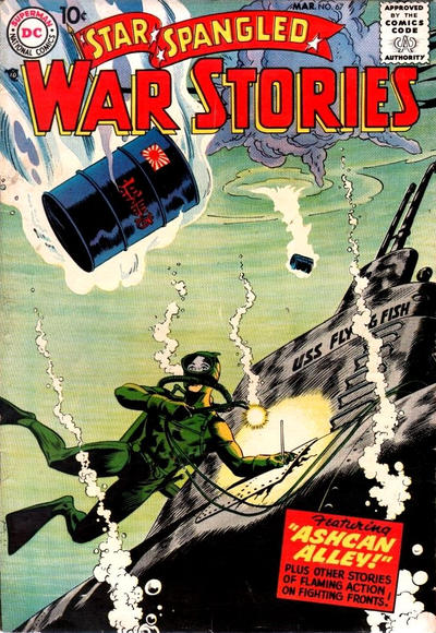 Cover for Star Spangled War Stories (DC, 1952 series) #67