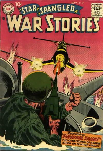 Cover for Star Spangled War Stories (DC, 1952 series) #69