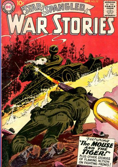 Cover for Star Spangled War Stories (DC, 1952 series) #73