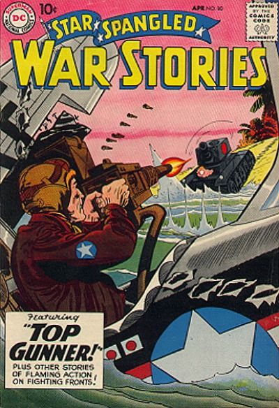 Cover for Star Spangled War Stories (DC, 1952 series) #80