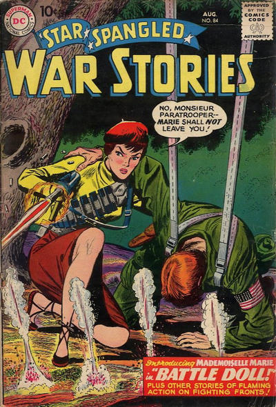 Cover for Star Spangled War Stories (DC, 1952 series) #84