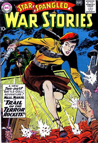 Cover for Star Spangled War Stories (DC, 1952 series) #89