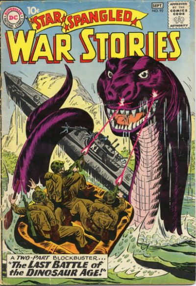 Cover for Star Spangled War Stories (DC, 1952 series) #92