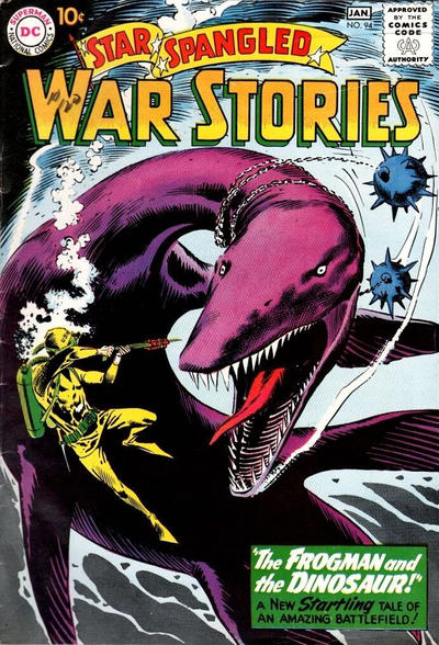 Cover for Star Spangled War Stories (DC, 1952 series) #94