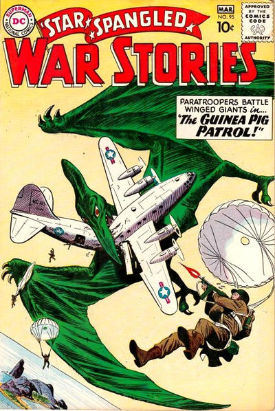 Cover for Star Spangled War Stories (DC, 1952 series) #95