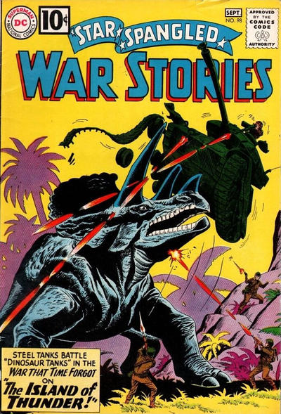 Cover for Star Spangled War Stories (DC, 1952 series) #98