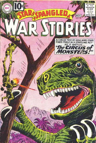 Cover for Star Spangled War Stories (DC, 1952 series) #99