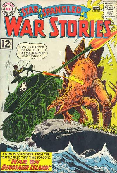 Cover for Star Spangled War Stories (DC, 1952 series) #105