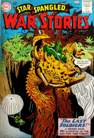 Cover for Star Spangled War Stories (DC, 1952 series) #109