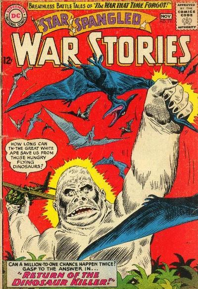 Cover for Star Spangled War Stories (DC, 1952 series) #111