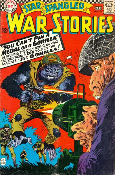 Cover for Star Spangled War Stories (DC, 1952 series) #126