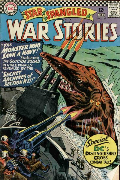 Cover for Star Spangled War Stories (DC, 1952 series) #127