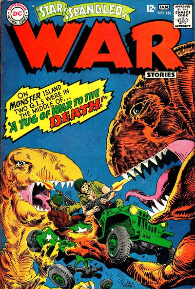Cover for Star Spangled War Stories (DC, 1952 series) #136