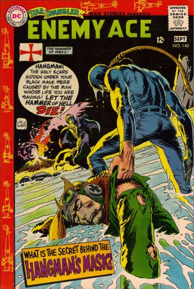 Cover for Star Spangled War Stories (DC, 1952 series) #140