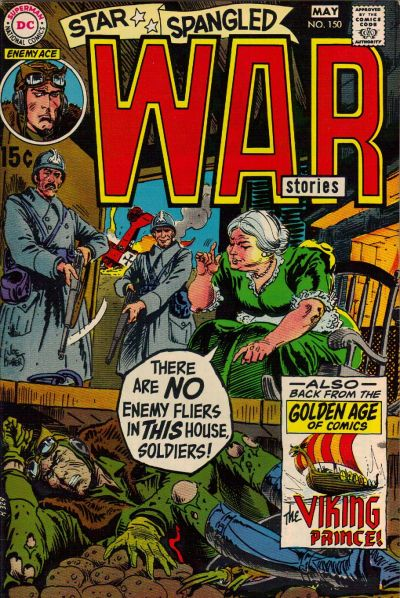 Cover for Star Spangled War Stories (DC, 1952 series) #150