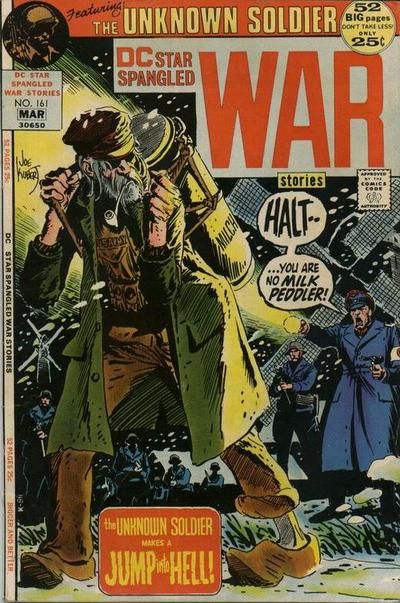 Cover for Star Spangled War Stories (DC, 1952 series) #161