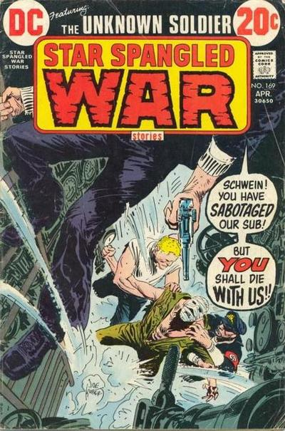 Cover for Star Spangled War Stories (DC, 1952 series) #169