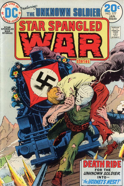 Cover for Star Spangled War Stories (DC, 1952 series) #177