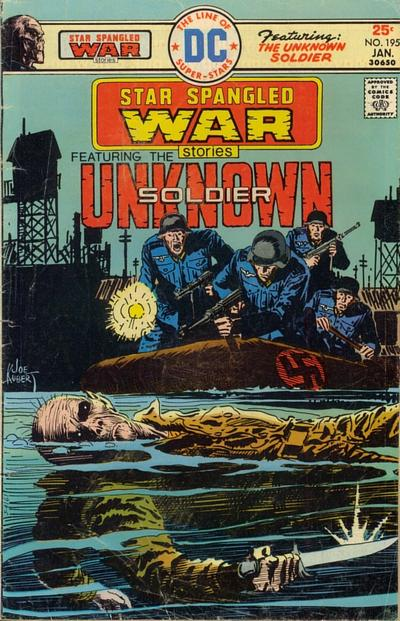 Cover for Star Spangled War Stories (DC, 1952 series) #195