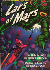 Cover for Lars of Mars (Ziff-Davis, 1951 series) #11