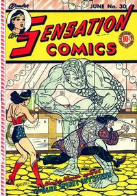 Cover Thumbnail for Sensation Comics (DC, 1942 series) #30
