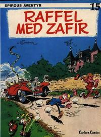 Cover Thumbnail for Spirous äventyr (Carlsen/if [SE], 1974 series) #15 - Raffel med Zafir