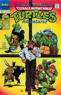 Cover Thumbnail for Teenage Mutant Ninja Turtles Adventures (Archie, 1989 series) #37