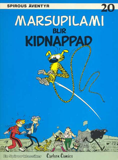 Cover for Spirous äventyr (1974 series) #20 - Marsupilami blir kidnappad