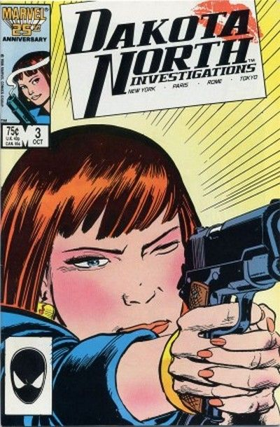 Cover for Dakota North (Marvel, 1986 series) #3