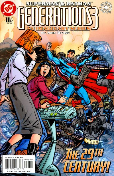 Cover for Superman & Batman: Generations III (DC, 2003 series) #11