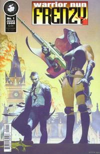 Cover Thumbnail for Warrior Nun: Frenzy (Antarctic Press, 1998 series) #1