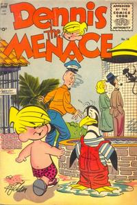 Cover Thumbnail for Dennis the Menace (Pines, 1953 series) #14