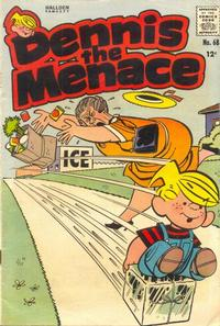 Cover for Dennis the Menace (Hallden; Fawcett, 1959 series) #68