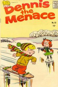 Cover Thumbnail for Dennis the Menace (Hallden; Fawcett, 1959 series) #83