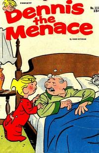 Cover Thumbnail for Dennis the Menace (Hallden; Fawcett, 1959 series) #111