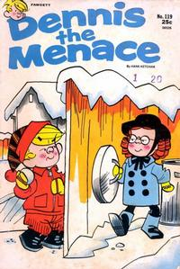 Cover Thumbnail for Dennis the Menace (Hallden; Fawcett, 1959 series) #119