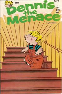 Cover Thumbnail for Dennis the Menace (Hallden; Fawcett, 1959 series) #140