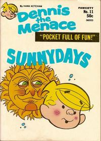 Cover Thumbnail for Dennis the Menace Pocket Full of Fun (Hallden; Fawcett, 1969 series) #11