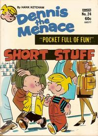 Cover Thumbnail for Dennis the Menace Pocket Full of Fun (Hallden; Fawcett, 1969 series) #24