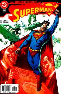 Cover Thumbnail for Adventures of Superman (DC, 1987 series) #618
