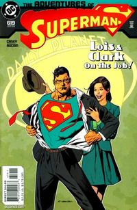 Cover Thumbnail for Adventures of Superman (DC, 1987 series) #619 [Direct]