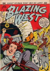Cover Thumbnail for Blazing West (American Comics Group, 1948 series) #13