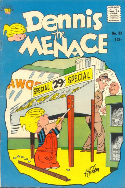 Cover for Dennis the Menace (1959 series) #33
