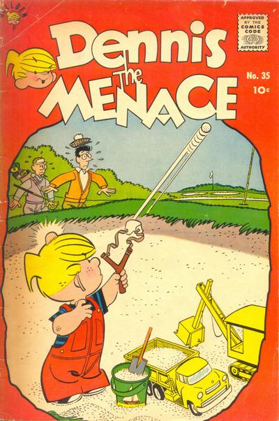 Cover for Dennis the Menace (Hallden; Fawcett, 1959 series) #35