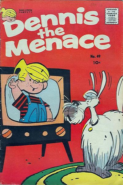 Cover for Dennis the Menace (Hallden; Fawcett, 1959 series) #49