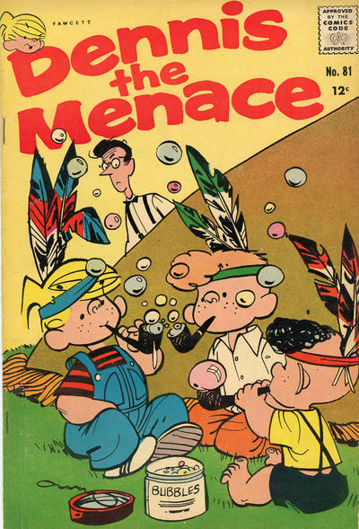 Cover for Dennis the Menace (Hallden; Fawcett, 1959 series) #81