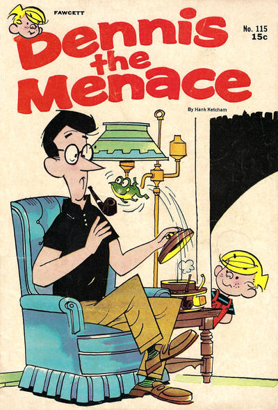 Cover for Dennis the Menace (Hallden; Fawcett, 1959 series) #115